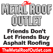 Friends Don't Let Friends Buy Asphalt Roofing